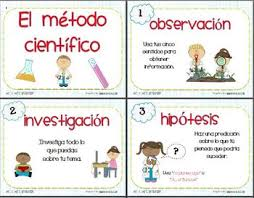 Spanish For Socks Scientific Method Spanish El Metodo Cientifico Scientific