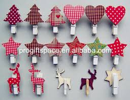 Decorative Clothespins Sale 2017 New Products Christmas Wooden Peg Craft Wooden