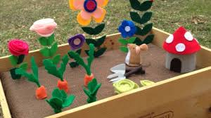 Garden Diy Crafts - make a cute toy garden diy crafts guidecentral youtube