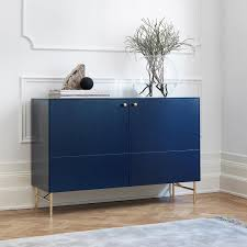 High Design Ikea Hacks Have Arrived Thou Swell by Infinity Blue Sideboard I Golden Pattern Angles Low Legs In Brass