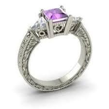 amethyst wedding rings amethyst engagement rings for women february birthstone