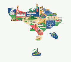 Asia Maps by Maps Of Asia On Behance