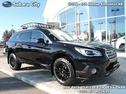 offroad subaru outback used 2017 subaru outback 2 5i touring special edition lifted offroad