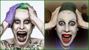 halloween makeup tutorial easy the joker jared leto easy halloween makeup tutorial youtube