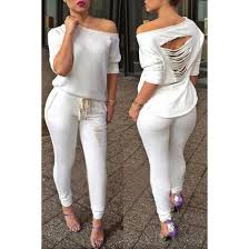 all white jumpsuits jumpsuit white casual ripped all white everything