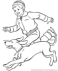dog coloring pages printable running dog coloring page sheet and