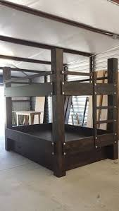 Queen Bunk Bed Looks Like A Bunch Of Xsso Doable House - Queen over queen bunk bed