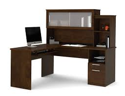 l shaped desk with side storage dayton by bestar is distinguishable by its large work surfaces and