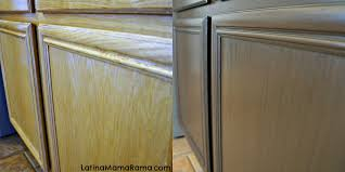 before after kitchen cabinets how to refinish your kitchen cabinets latina mama rama