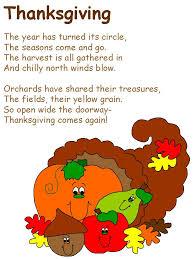 thanksgiving poems elementary thanksgiving blessings