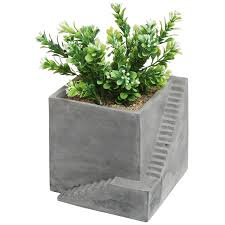 how to hang the metal trough planter on a solid wall best planters