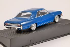 opel diplomat opel diplomat a coupe in blue 1 43 scale model