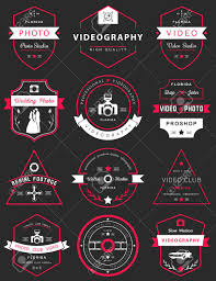 photography and videography vector collection of photography and videography logo templates