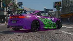mitsubishi purple nfs underground 1 mitsubishi eclipse livery gta5 mods com
