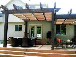 patio ideas beautiful deck canopy exterior outstanding backyard