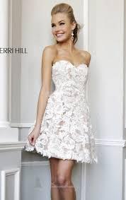 the 25 best sherri hill white dress ideas on pinterest sherri