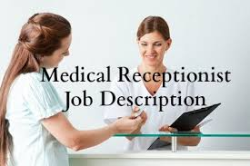Medical Receptionist Job Description For Resume by Medicalreceptionist3 Jpg