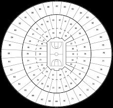 Frank Erwin Center Map Seating Diagrams University Of Texas