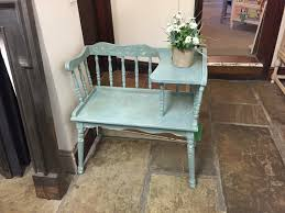 Antique Telephone Bench The Holly And Laurel Emporium Shabby Chic