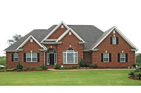 brick colonial house plans traditional brick ranch house plans house design and office new