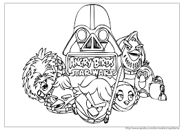 angry birds star wars coloring pages birthday ideas 11373