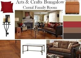 arts and crafts homes interiors boards arts crafts bungalow living room