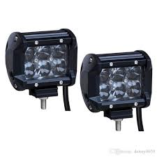 Best Light Bars For Trucks 18w Led Work Light Spot Led Light Bar Off Road Led Lights Truck