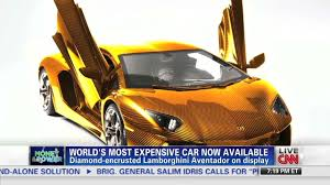 most expensive car the world u0027s most expensive car is cnn video