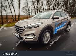 hyundai tucson 2016 grey minsk belarus november 14 2015 allnew stock photo 339108443
