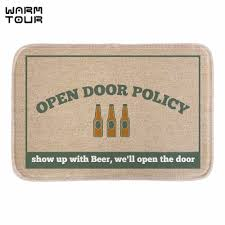 funny doormat warm tour funny doormat open policy wine printed soft lightness