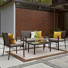 outdoor sitting patio conversation sets outdoor seating sets kmart