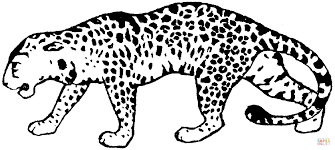 leopard 17 coloring page free printable coloring pages