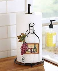 themed paper towel holder the wine themed paper towel holder kitchen dining