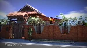 thai modern house house interior