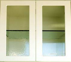 Textured Glass Cabinet Doors Cord Vertical Wiggly Lines Modern And Shimmery Cabinet