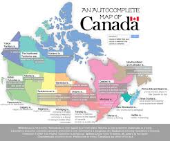 Canada On A Map An Autocomplete Map Of Canada Image Description A Map Of C U2026 Flickr