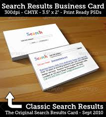 Job Title On Business Card Fascinating Google Search Business Card Template 16 On Business
