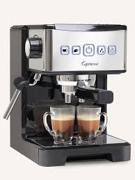 espresso maker how it works espresso u0026 cappuccino machine ec pro capresso