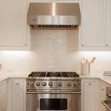 backsplashes for white kitchens white glazed kitchen backsplash tiles design ideas