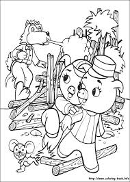 pigs coloring picture