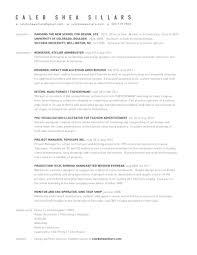 Resume For Cnc Operator Resume Cv Caleb Shea Sillars Works
