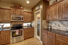 kitchen knotty alder idea with panel wood flooring and beautiful