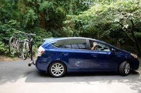 toyota prius bike rack yakima swing on 2012 prius v yes on a 2 receiver my bikes