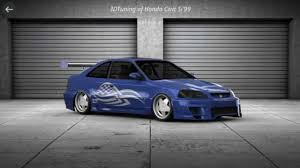 honda civic si 99 honda civic si 99 alu borbet top tuning by acer e700