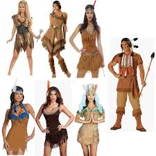 Upscale Halloween Costumes Halloween Costume Cosplay Clothes Primitive Indigenous Indian