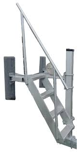 winch post aluminum seat ladder pontoon cat po2850 59