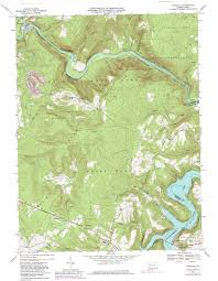 State Map Of Pennsylvania by Ohiopyle Topographic Map Pa Usgs Topo Quad 39079g4