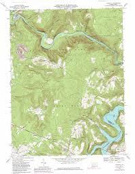 Pa Road Map Ohiopyle Topographic Map Pa Usgs Topo Quad 39079g4