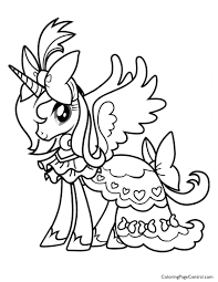 my little pony 01 coloring page coloring page central