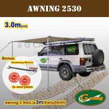 Car Awnings Brisbane G Camp 2 5m X 3m Awning Roof Top Tent Camper Trailer 4wd 4x4